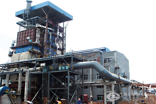 Waste heat recovery boiler in paper industry image