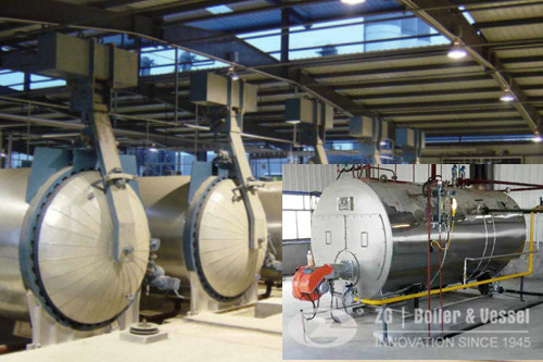 5ton horizontal steam boiler for autoclave