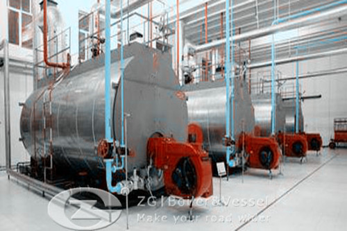 Horizontal Boiler for food and beverage industry image