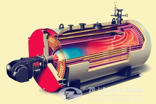 Restaurant hot water boiler for bath image