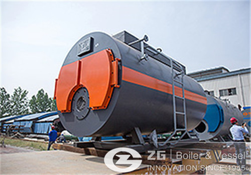 Oil and gas boilers for food factories