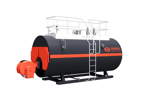 What is the fuel consumption of a 5 ton diesel boiler?