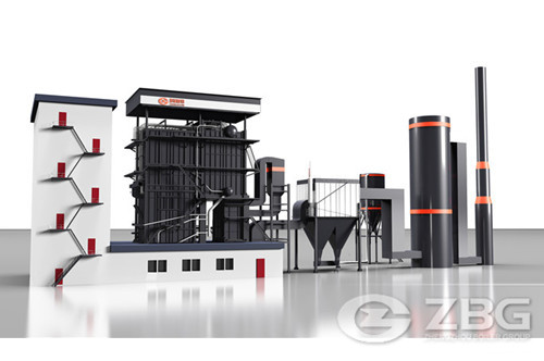 Food factory power generation boiler