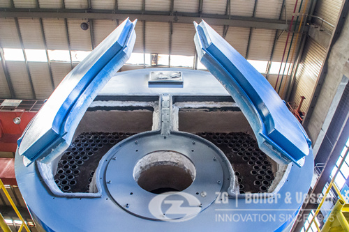 Horizontal boiler for Chemical industry In India image