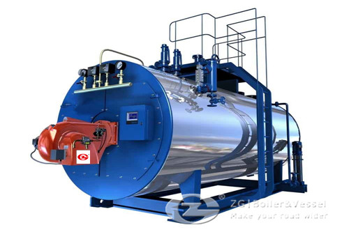 Horizontal Oil fired boiler manu image