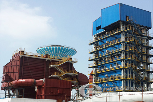 Waste heat recovery boiler in Uz image