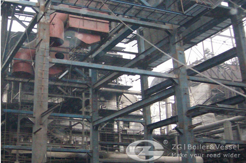 110ton circulating fluidized bed (CFB) for power station in India
