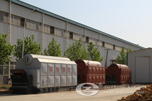 75 ton biomass power plant boile image