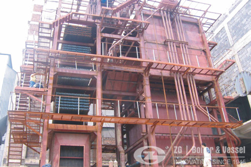 110t CFB boiler for India Paper  image