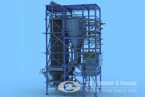 Vietnam 30t CFB Sugar plant boil image