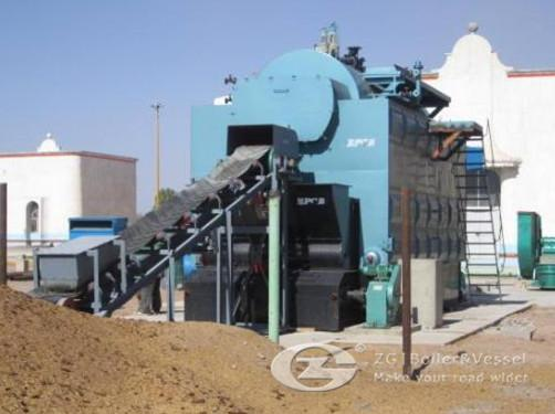 Biomass fired horizontal boiler  image
