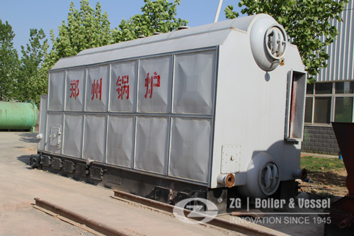 Coal fired chain grate boiler fo image