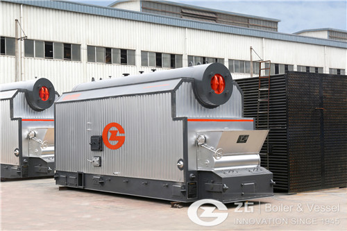 29 MW palm shell biomass boiler  image
