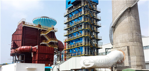 Waste heat boiler in Malaysia image