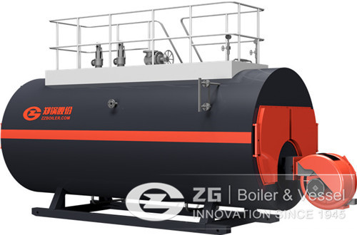 5 ton diesel fired steam boiler image