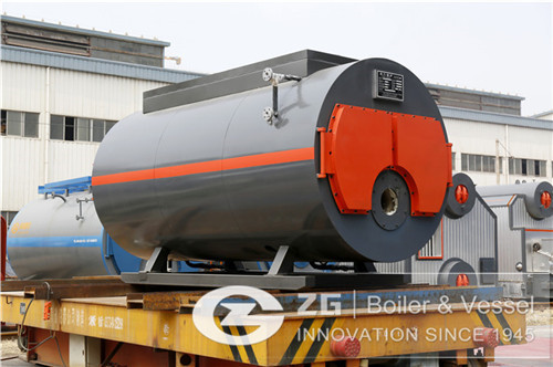 4 ton natural gas steam boiler i image