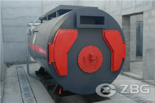 3 ton oil gas boiler for concret image