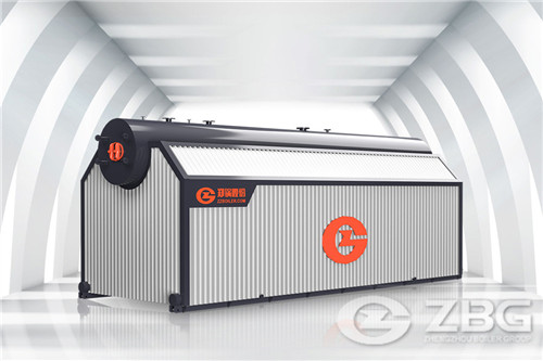 20 ton horizontal package boiler image