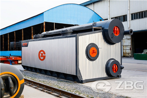 40 tons gas and oil fired boiler in Ghana image