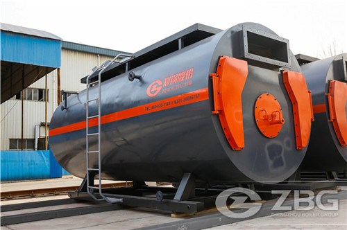 20 ton oil gas steam boiler in a image