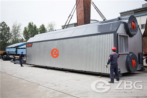 4 ton biomass steam boiler for tobacco factory image