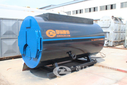 Horizontal gas steam boiler for  image