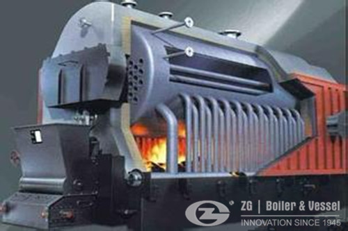 biomass boiler for paper plant