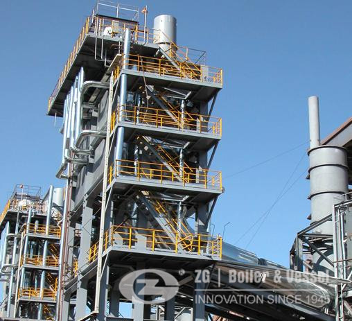 energy saving waste heat boiler