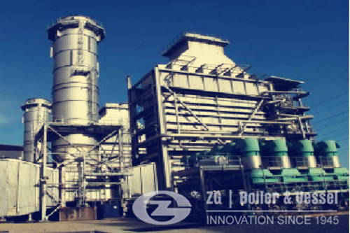 chp system in biomass industry