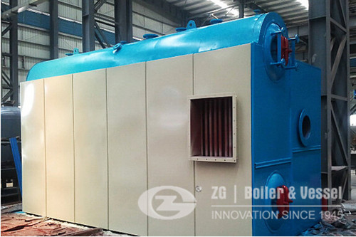 China water tube d-type structure boiler