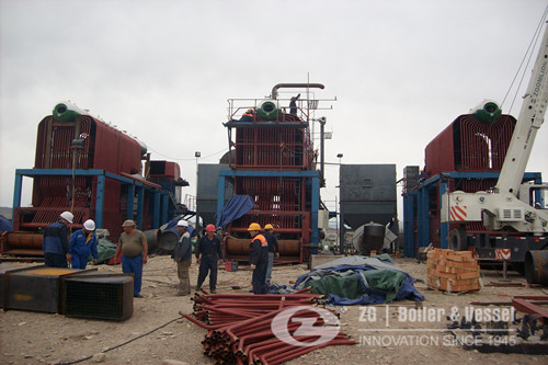 20 ton chain grate coal fired boilers reference