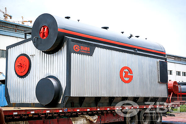 3500hp high pressure gas steam boiler