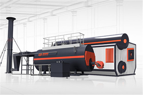 steam boiler for the tobacco industry