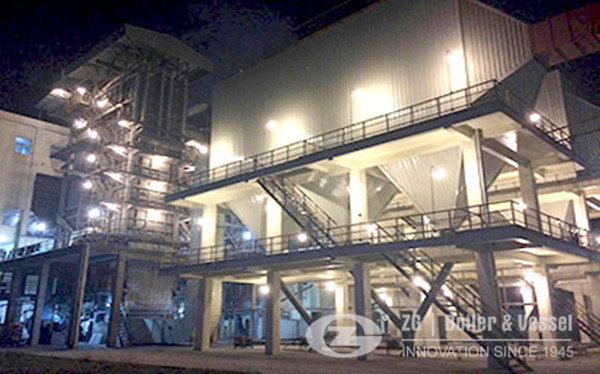 Biomass fired cfb boiler for power plant