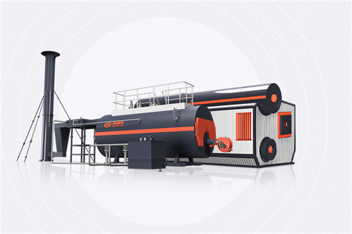 10 Tph Diesel Oil Steam Boiler Industrial Steam Boiler For R image