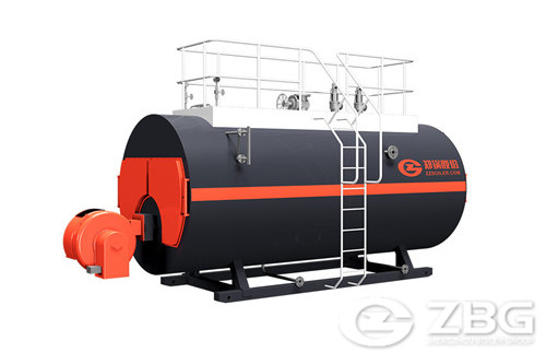 150 hp natural gas fire tube steam boiler for paper/food/tex image