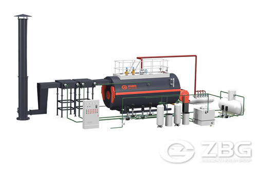 China industrial steam boiler manufacturer image