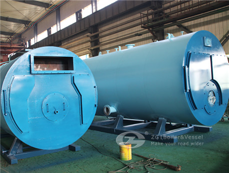 WNS horizontal oil fired hot water boiler image