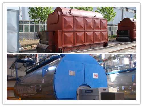 6 ton Horizontal steam boiler image