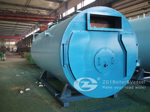 2 ton horizontal steam boiler image