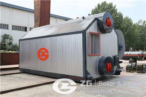 2 tons biomass steam boiler model