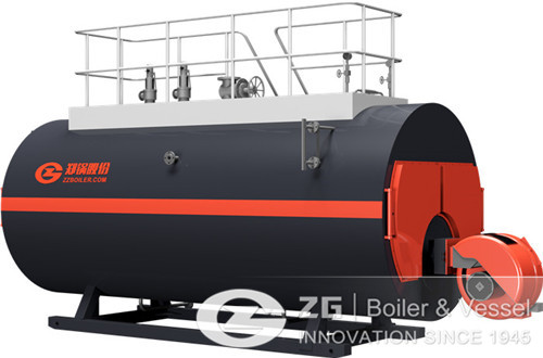 2 tons steam boiler model image